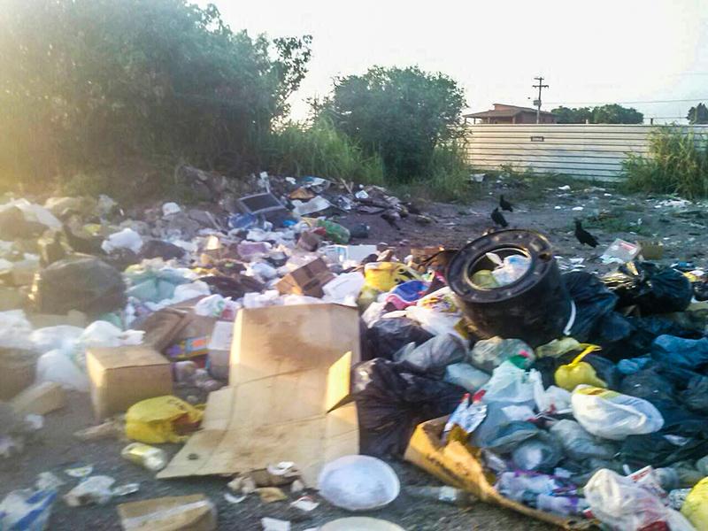 Maricá enfrenta problemas na coleta de lixo