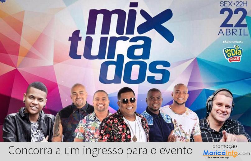 Maricá: Mixturados traz grupo Clareou e MC Duduzinho no dia 22 de abril