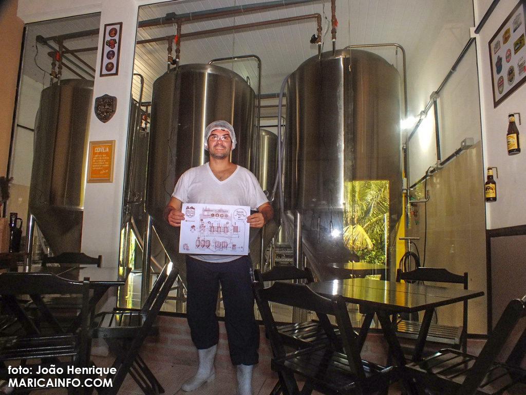 Cervejas são produzidas pelo Mestre Cervejeiro Edson Carlos (foto: João Henrique).