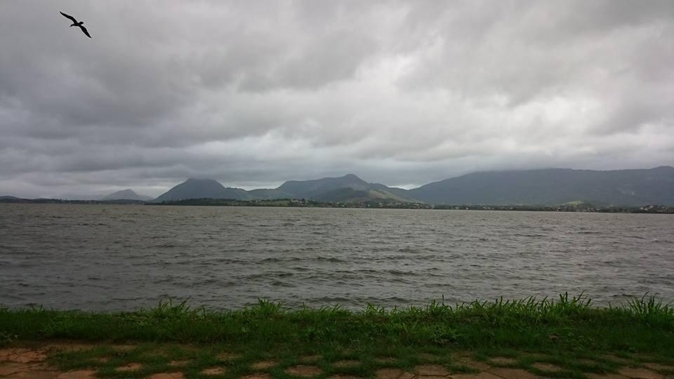 Previsão de chuva para esta segunda-feira (13) em Maricá