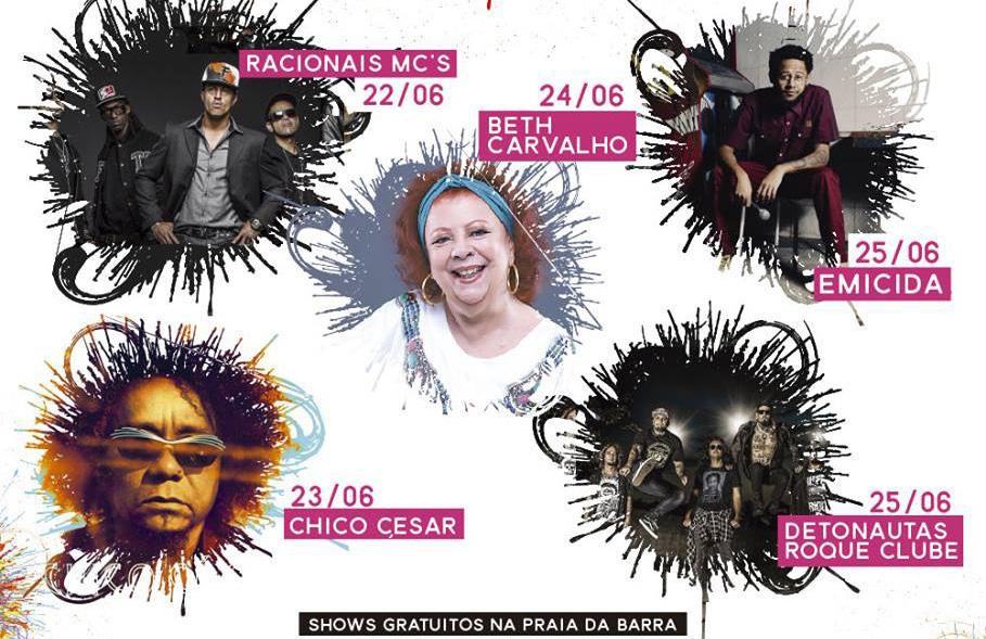 Em Maricá, Festival da Utopia terá shows com Racionais MC's, Emicida e Detonautas