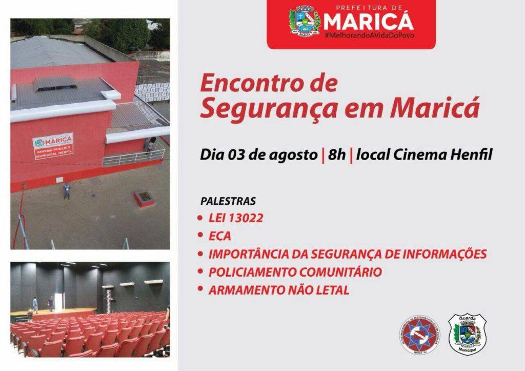 Maricá terá 1º Encontro de Segurança nesta quarta-feira (3)