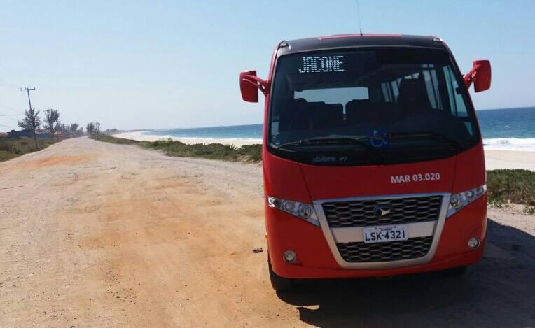 Maricá: Vermelhinhos começam a circular em Jaconé