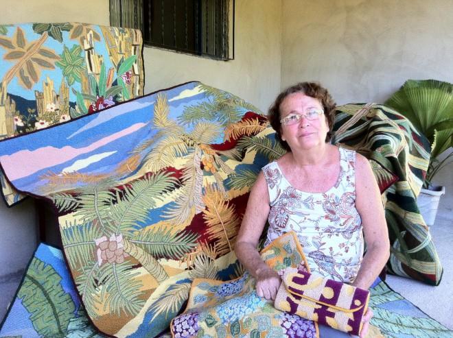 Maricá: Tapeceiras do bairro rural do Espraiado mantém viva a arte do Ponto Brasileiro