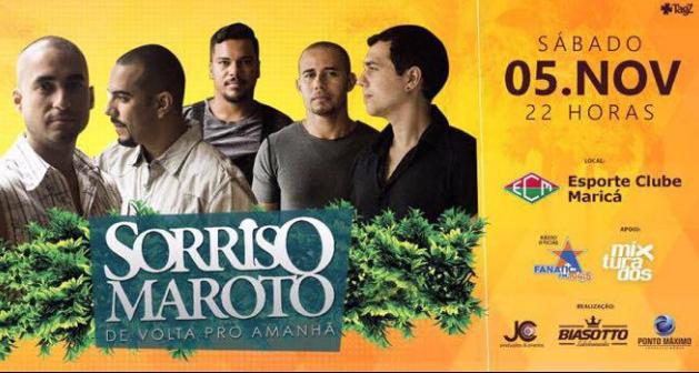 Sorriso Maroto se apresenta neste sábado (5) em Maricá, concorra a ingressos