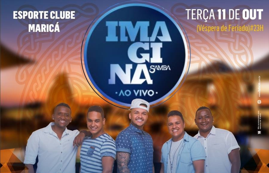 Maricá recebe show do grupo 'Imaginasamba' na terça-feira (11), concorra a ingressos