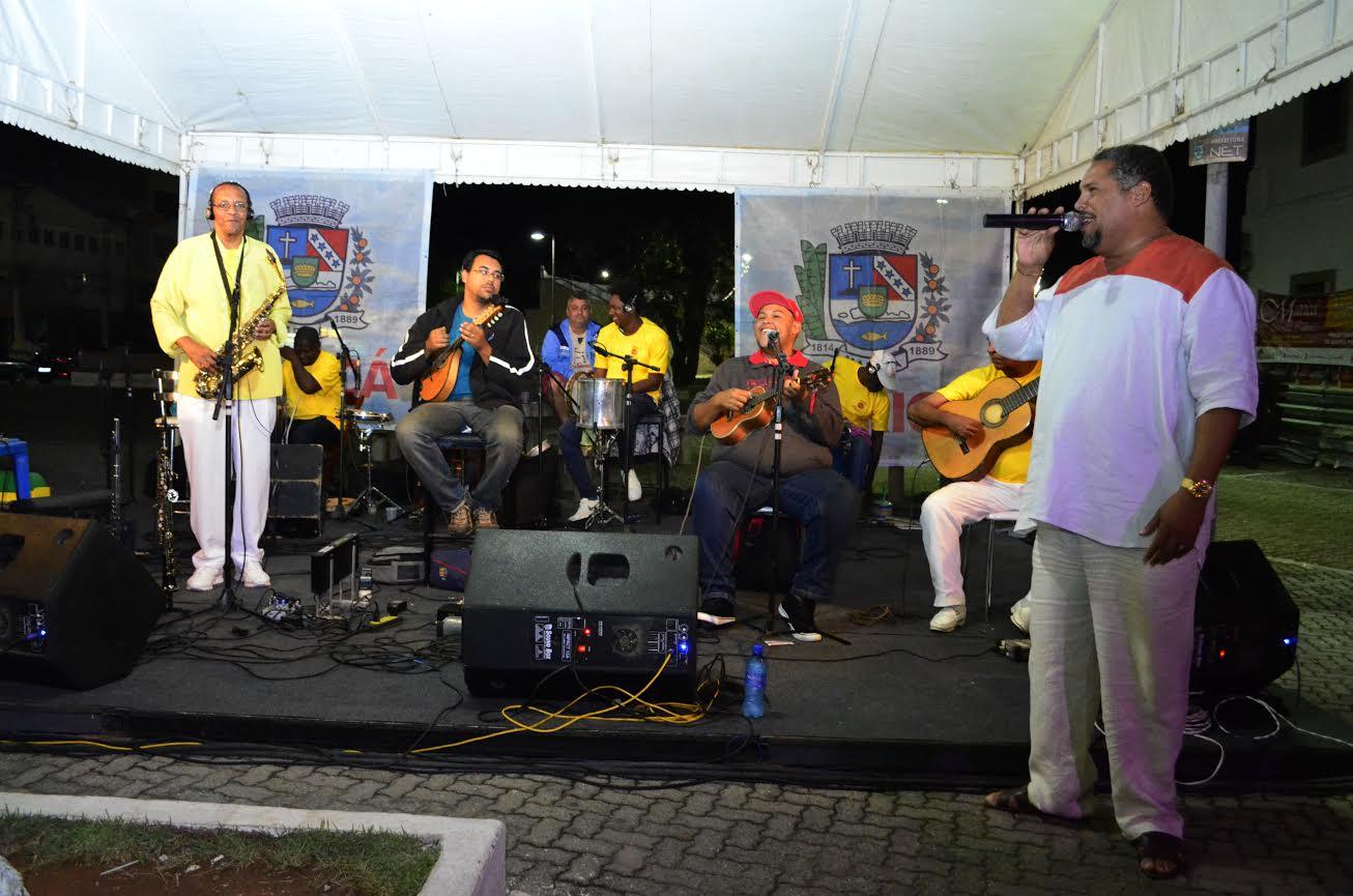 Show gratuito em Maricá no Dia Nacional do Samba