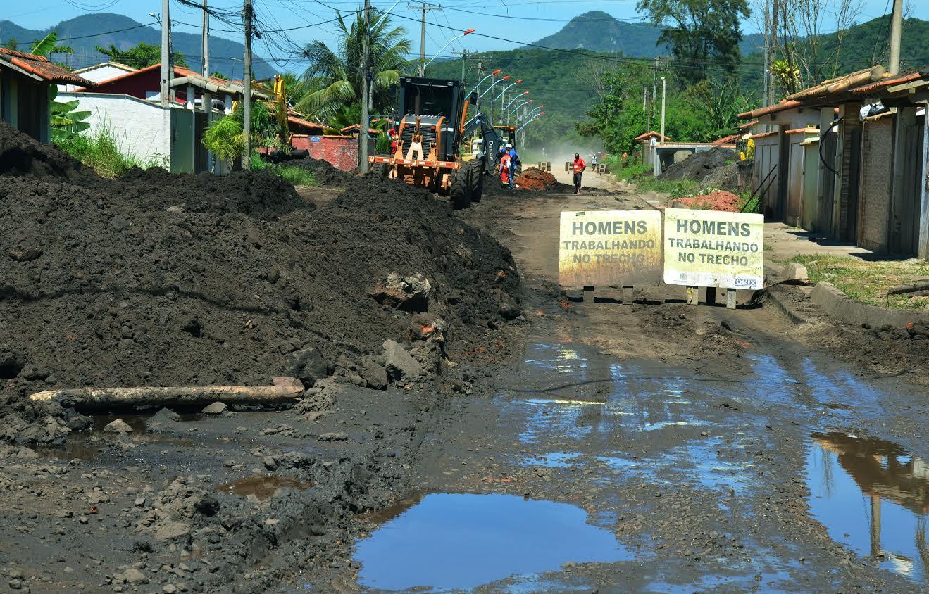 Prefeitura de Maricá retoma obras de macrodrenagem em Itaipuaçu