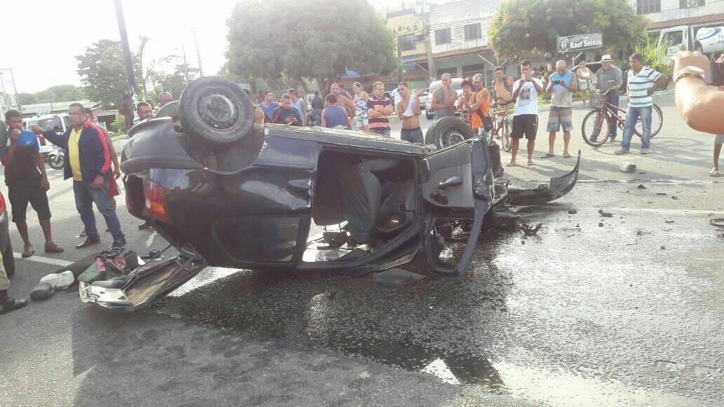 Maricá: Grave acidente deixa 5 pessoas feridas no Parque Nanci
