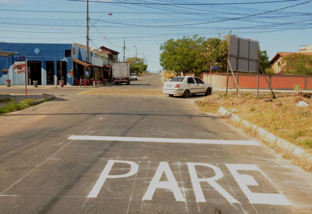 Itaipuaçu: Prefeitura sinaliza cruzamento após pedido do vereador Filippe Poubel
