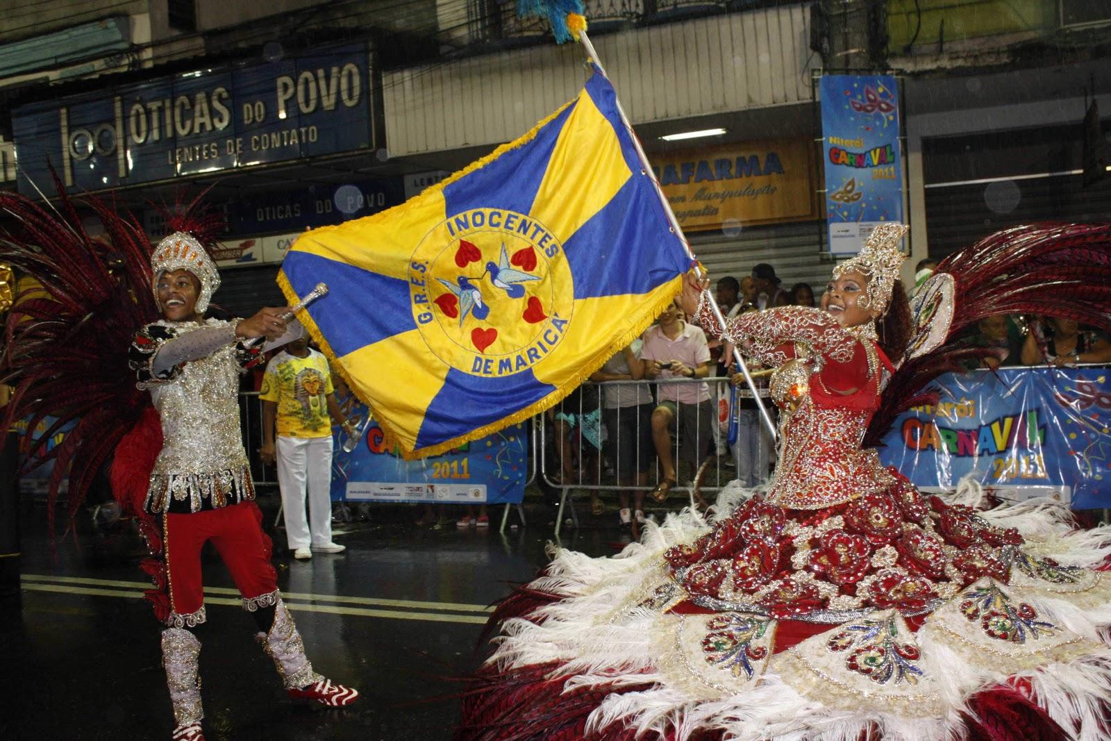 Retorno das escolas de samba fecha o carnaval de Maricá com chave de ouro