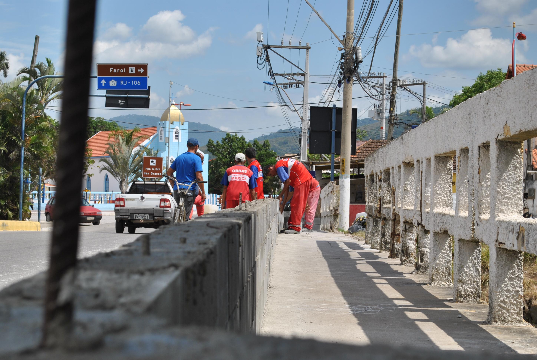 Maricá: Prefeitura realiza intervenções em Ponta Negra e na Barra