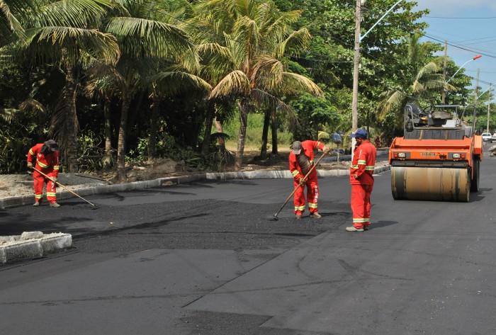 Maricá promove intervenções de trânsito em diversos bairros