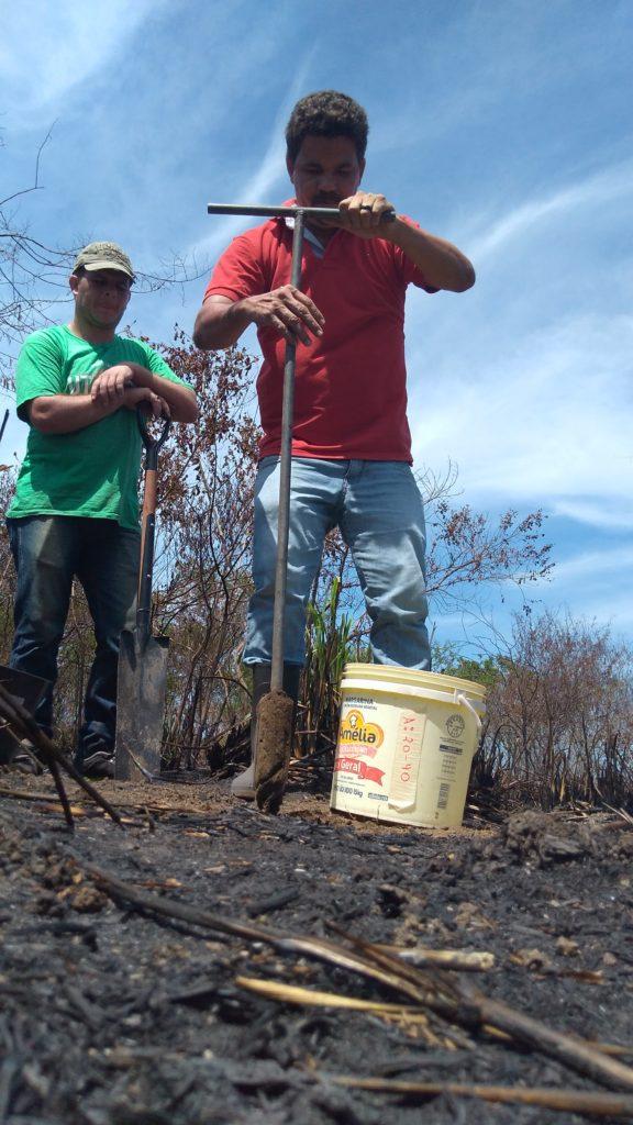Projeto de horta comunitária no Manu Manuela