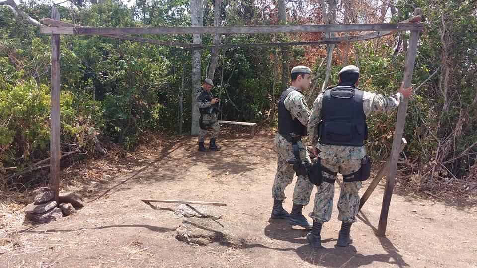 Itaipuaçu: Polícia Ambiental impede início de ocupação irregular no Morro da Peça