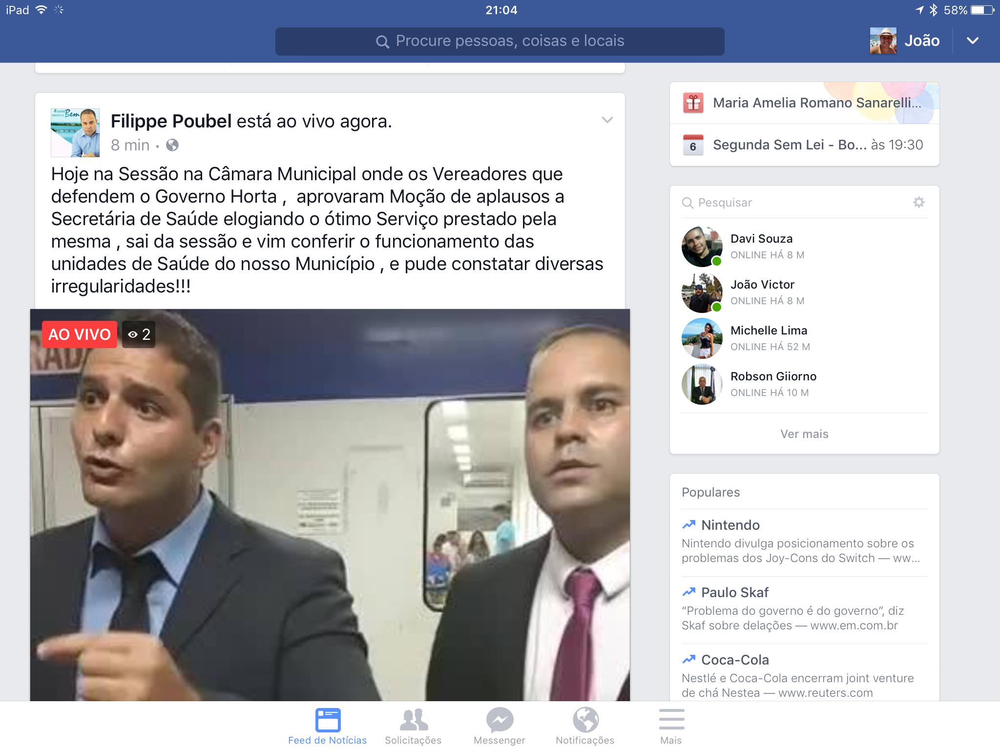 Maricá: Vereadores de oposição fiscalizam unidades de saúde e encontram problemas