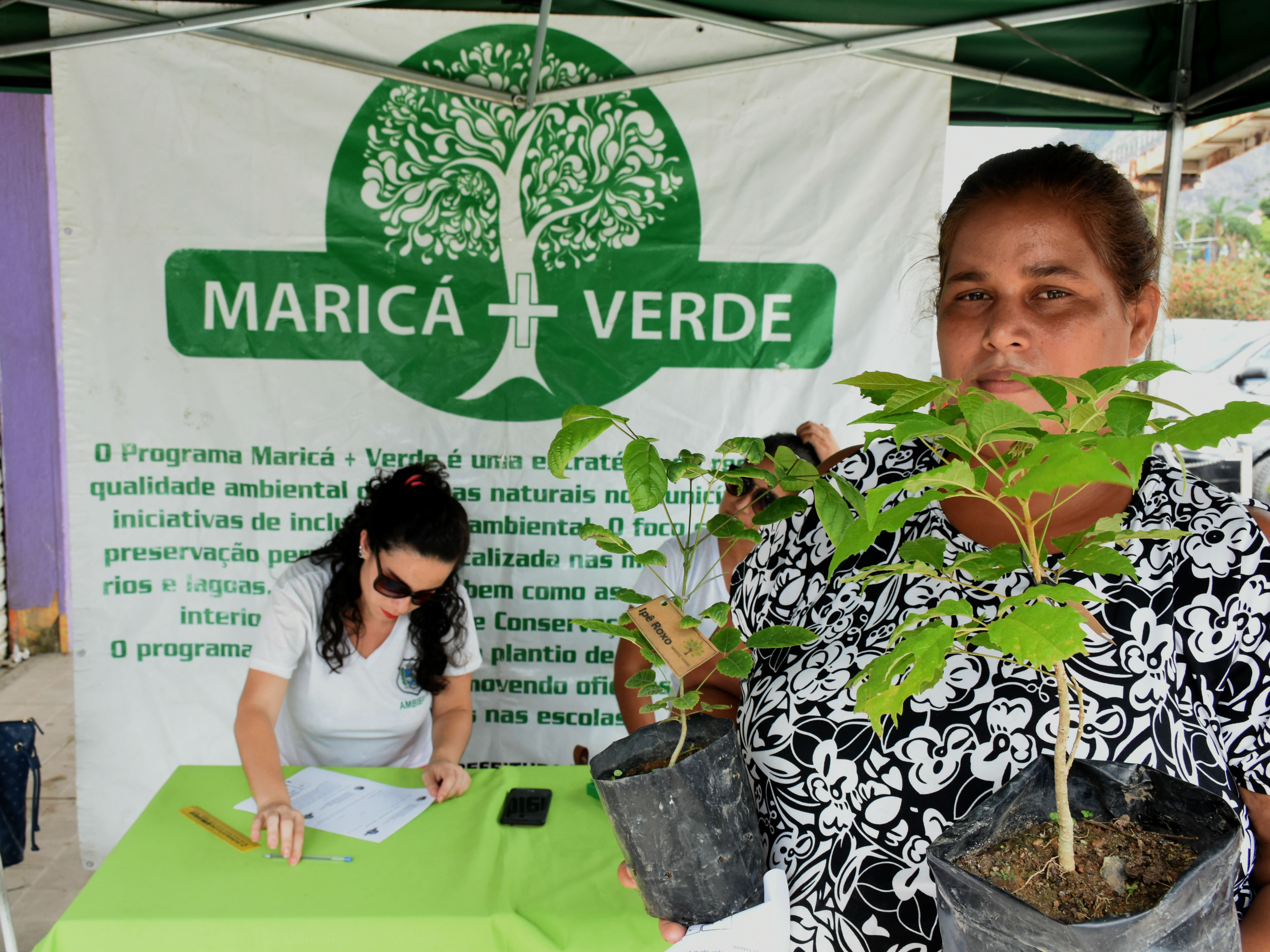 Maricá+Verde doa 72 mudas em São José