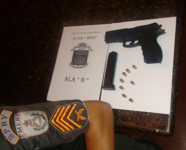Maricá: Polícia Rodoviária prende homem com arma na Serra do Mato Grosso