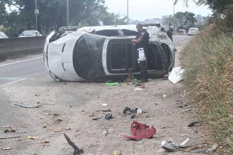 Maricá: Cidade registra 31 acidentes com 52 feridos e uma morte
