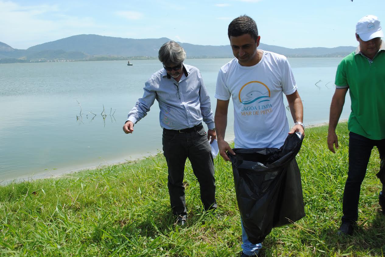 """Prefeitura de Maricá inicia projeto """"Lagoa limpa, Mar de Peixe"""""""