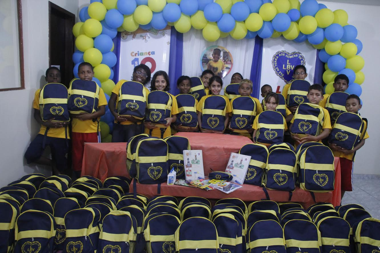 Em Maricá, LBV incentiva o futuro de centenas de crianças