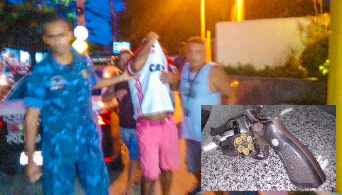 Maricá: PM à paisana prende homem armado que invadiu escola