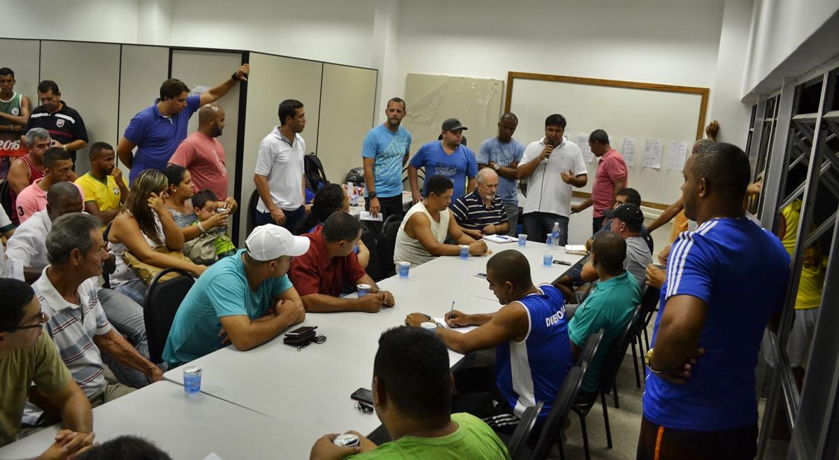 Reunião define organização da Taça Maricá