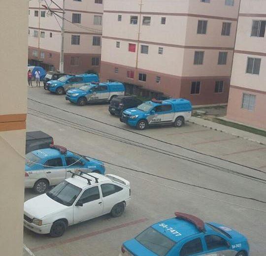 Maricá: Polícia Militar realiza operação no 'Minha Casa Minha Vida' de Inoã