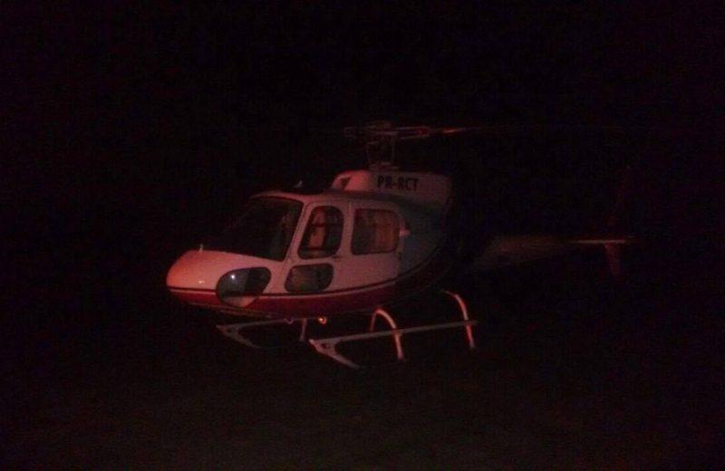 Helicóptero que caiu na Praia de Itacoatiara seguia para resgate na Restinga de Maricá