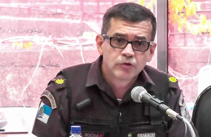 Coronel comenta a importância do registro de ocorrência nos crimes em Maricá