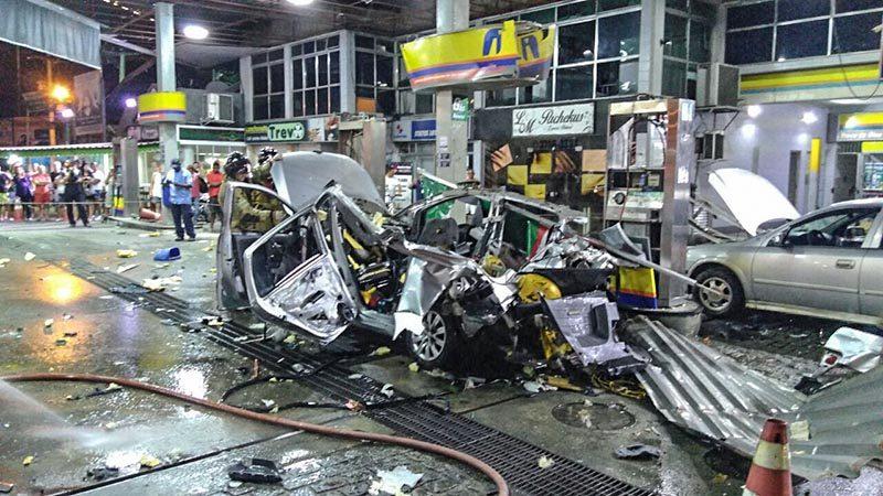 Funcionários do posto onde carro explodiu e matou mulher serão ouvidos nesta segunda