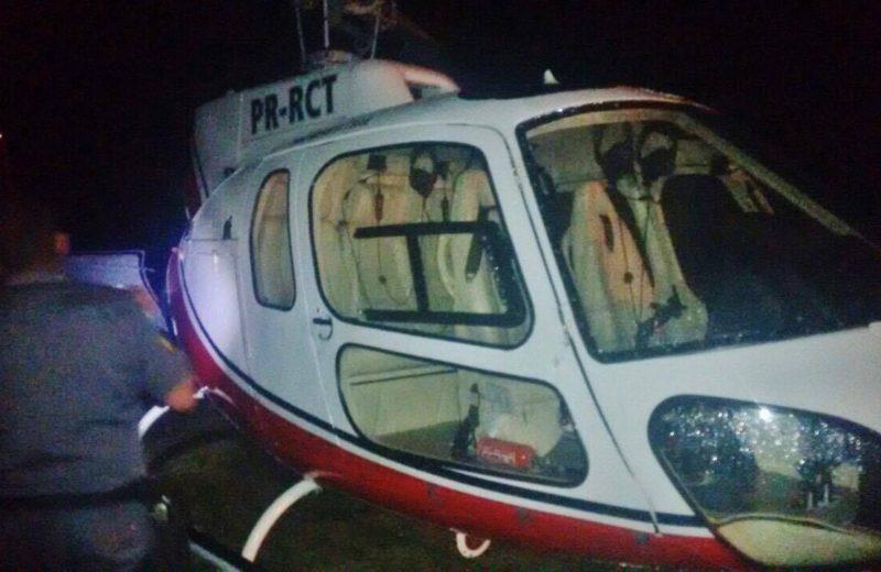 Maricá: Helicóptero é encontrado na Restinga