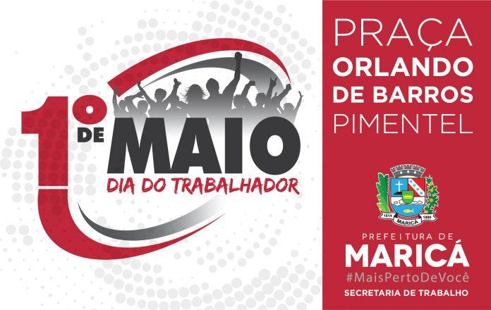 Maricá terá shows e serviços oferecidos no Dia do Trabalhador