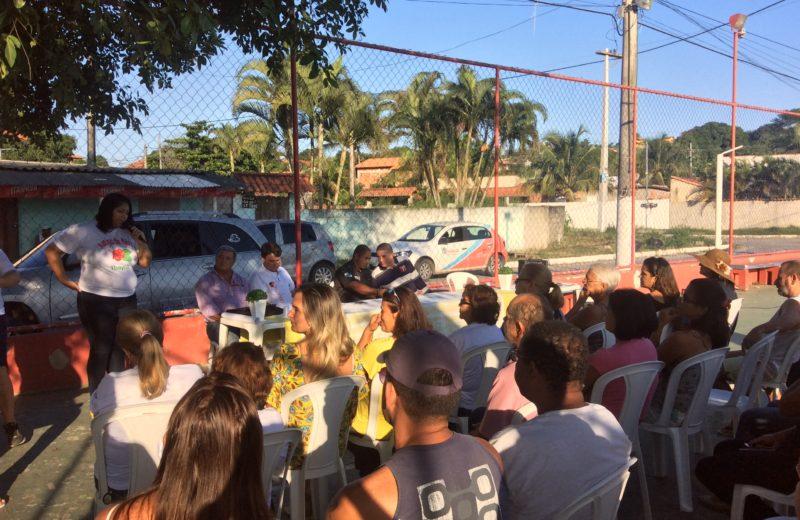 Moradores do Manu Manuela debatem segurança pública em reunião