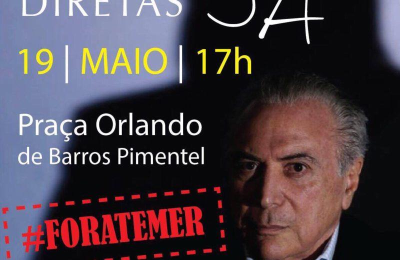 Maricá terá manifestação contra o presidente Michel Temer