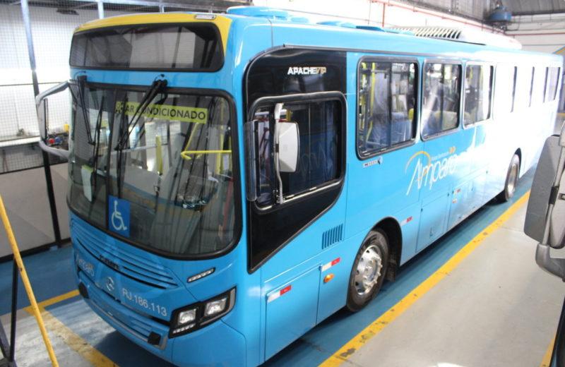 Maricá: Primeiros ônibus urbanos com ar condicionado chegam à Amparo