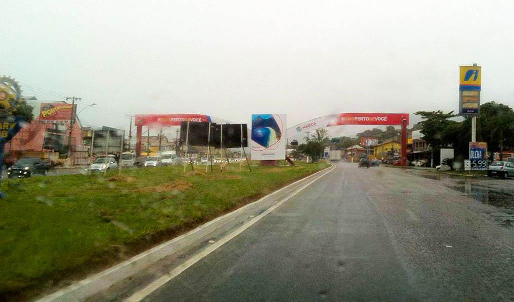 Tempo chuvoso em Maricá