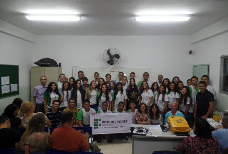 Campus Avançado Maricá inicia atividades no Programa Miniempresa