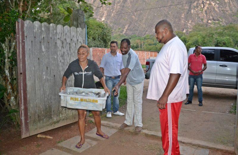 Maricá: Prefeitura doa pescados a instituições de assistência