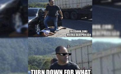 Vereador de Maricá auxilia prisão de ladrão de cargas e vira meme na internet