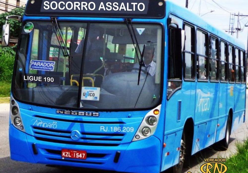 Maricá: Vereador Ricardinho Netuno propõe Lei para inibir roubo a ônibus