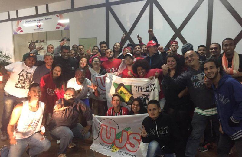 Maricá: Jovens da UJS e JPT vão a Curitiba em ato pró-Lula